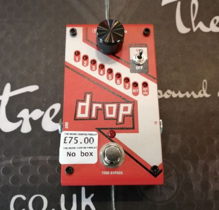 Digitech Drop D Pedal (Ex Demo)